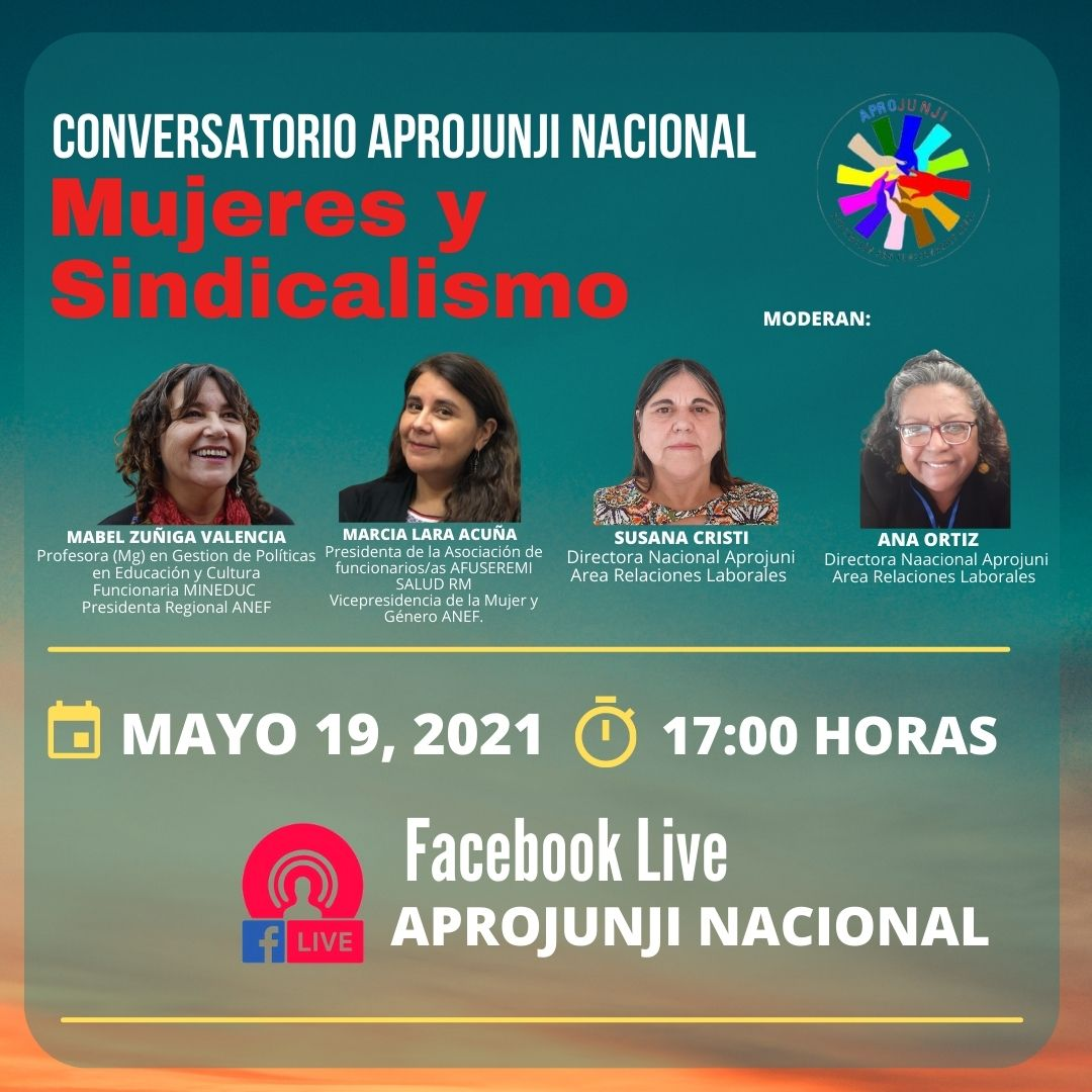 Conversatorio Mujeres y sindicalismo